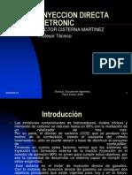 Inyeccion directa de gasolina Bosch Motronic MED7.ppt