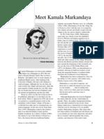 About Kamala Markandaya
