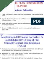 Historia Del Plan Contable en El Peru