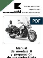 VN 900 Classic Manual de Montaje