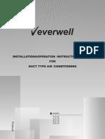 FUA - Installation and Operation Manual