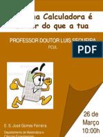 Cartaz _palestra Luis Sequeira