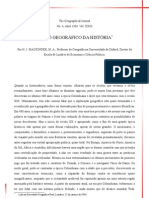 MACKINDER - 1904 - O PIVÔ GEOGRÁFICO DA HISTÓRIA