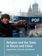 Religion and the State in Russia and China - Suppression, Survival, And Revival