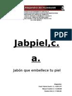 61211618 Proyecto de Jabon Jabpiel c A