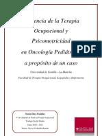 Influencia Terapia Ocupacional Oncologia Pediatria Nuria Diaz Fraidiaz Enero12