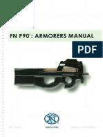 Fn P90 Armorers Manual