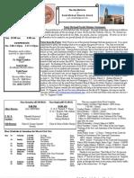 St. Michael's March 24, 2013 Bulletin