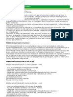Apostila Modelos Organizacionais