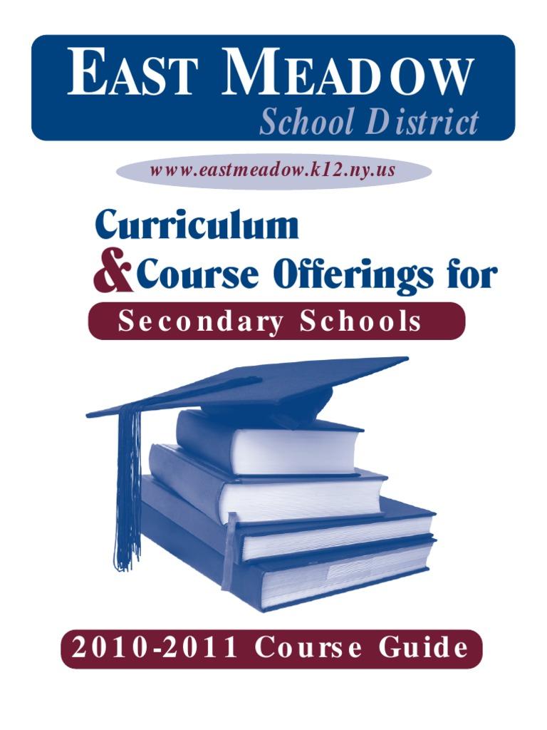 Course Guide 10 11 east meadow highschool new york.pdf | Regents ...