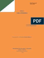 Unidad 2 - Tabla Periodica