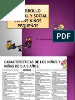 Desarrollo Personal y social en los niños pequeños