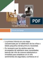 vnculostempranos-kinesioppt-110701062416-phpapp01