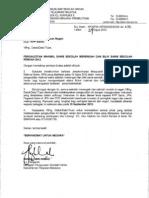 Surat Pengauditan Makmal Sc 2012