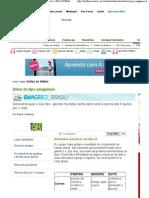 Dieta do tipo sanguíneo - Matéria completa - pagina1  BOA FORMA