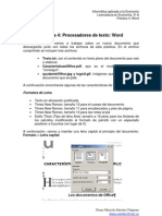 Práctica 3 - Microsoft Word