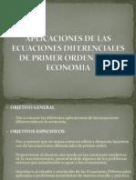 Ecuaciones Diferenciales Aplicadas a Economia