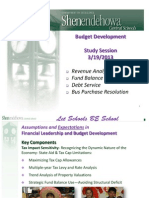 Shenendehowa School District Budget Presentation