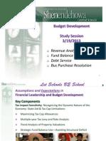 Shenendehowa School District Budget Presentation