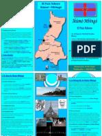 Comunicado Oficial sobre la Publicación de la «GRAMÁTICA MODERNA DE LA LENGUA NDOWE»  Tríptico del territorio Ancestral Ndowe