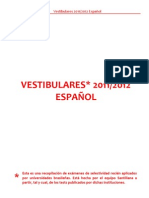 Vestibulares Espanol 2011 12