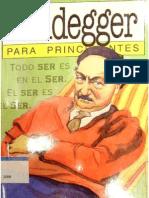 Heidegger Para Principiantes