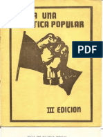 hacia una política popular