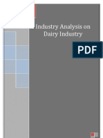 Project on Dairy Industry