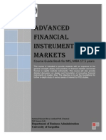 Advanced Financial Instruments and Markets Course Guide Book