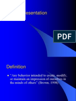 Self Presentation