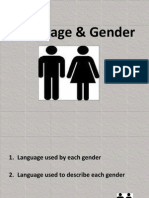 Language & Gender