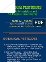 Botanical Pesticides