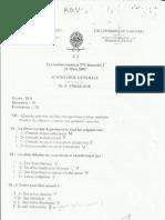 semiologie 1