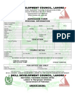 SDC Admission Form.doc