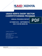 Kenya Dairy Sector Competitiveness Program (KDSCP) Annual Report_2011
