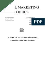 Viral Marketing of HCL