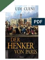 """TEXTPROBE """"Der Henker von Paris"""" von Claude Cueni"""