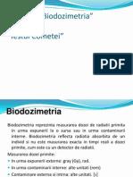 biodozimetrie
