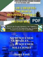 Checklist Area Quirurgica. Ricardo Pardo