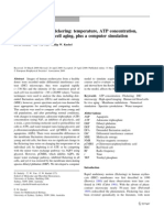 Eritrocite, Temp, ATP