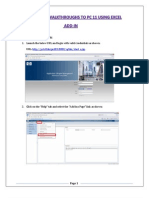 How to upload the walkthroughs to PC 11 using Excel Addin.docx