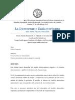 La Democracia Sudamericana