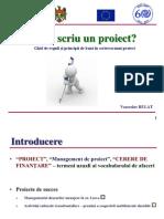 PP Scriere Proiecte