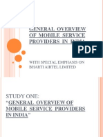 General Overview of Mobile Service Providers in India[1]_2