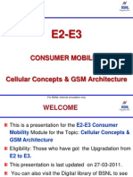 Chapter01.Cellular Concept GSM Architecture