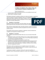 Summary of the Offshore Installations (Prevention of Fire and Explosion, And Emergency Response) Regulation 1995