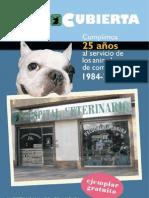 Revista 25 Aniversario Hospital Veterinario Cruz Cubierta (Valencia)
