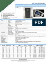 E300 UPS Datasheet