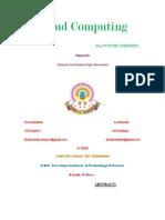 A Paper on Cloud Computing Ref Jagadish