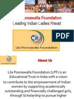 Lila Poonawalla Foundation - Complete Presentation
